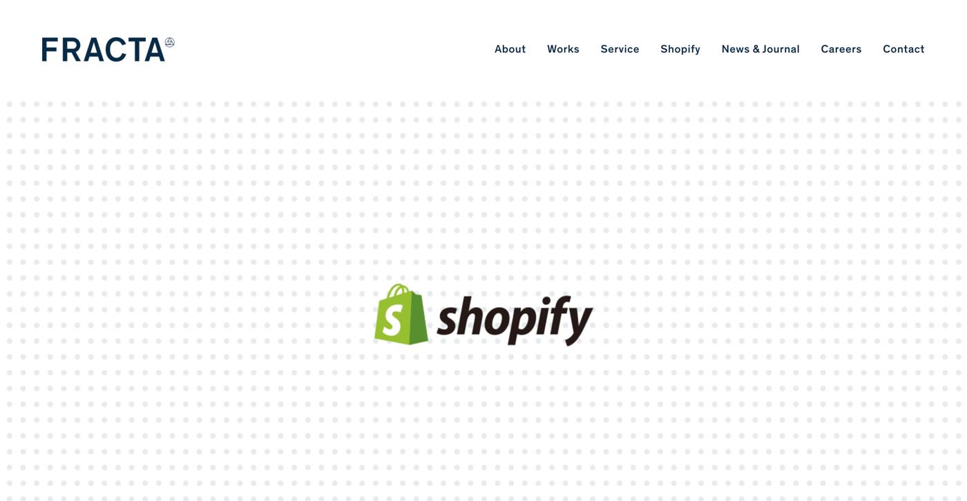 Shopify制作代行会社の株式会社フラクタ